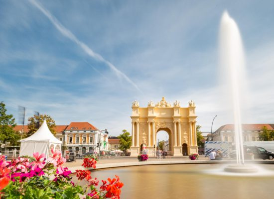 Luisenplatz Potsdam - Brandenburger Tor
